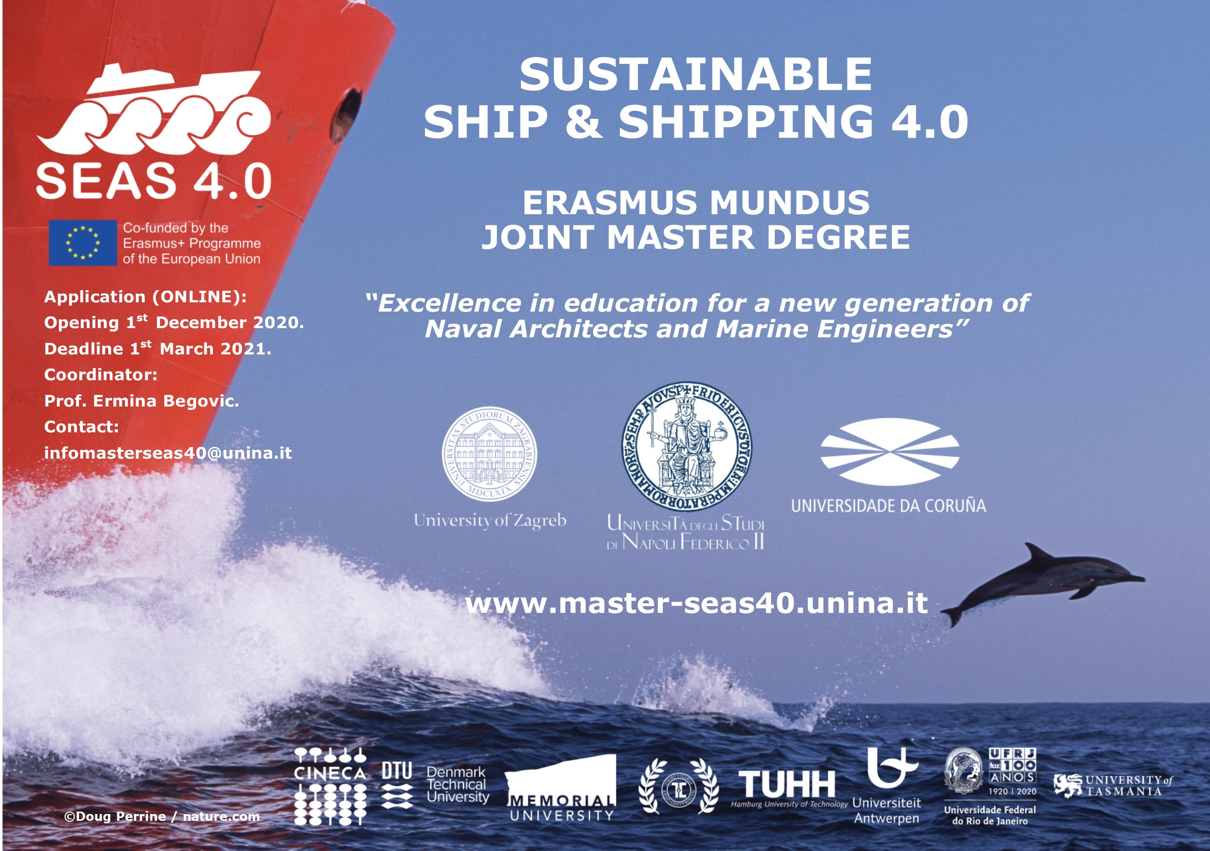 """SUSTAINABLE SHIP AND SHIPPING – SEAS 4.0"""