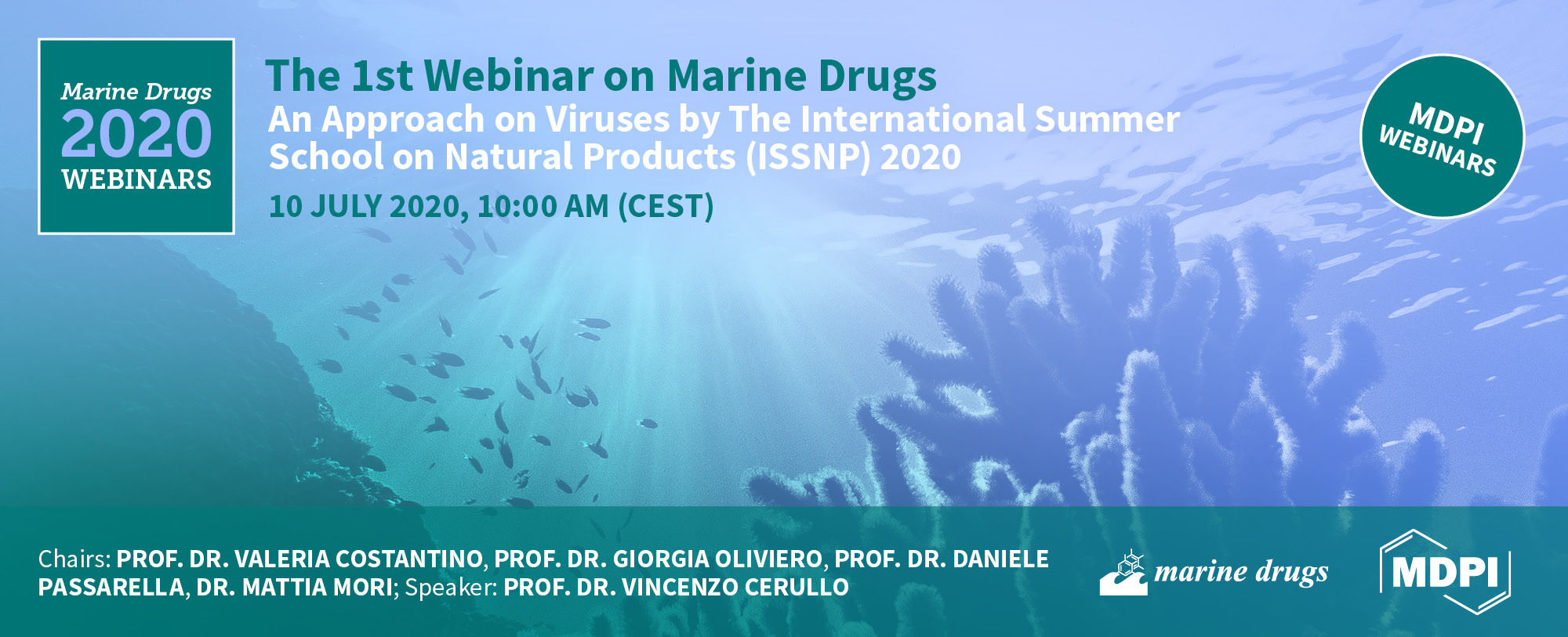 1st Webinar on Marine Drugs – an Open Access Journal